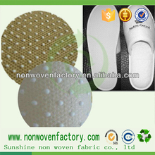 qualità del pp nonwoven tessuto per scarpe antiscivolo materiale, tessuto