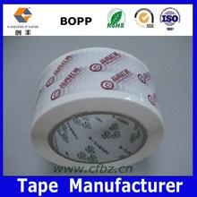 Hot!!! Clear/Brown/Printed OPP Binder Tape