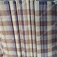 Color Vertical Stripe Background Windows Bamboo Blinds