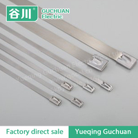 Wholesale Stainless steel cable tie metal ribbon Marine cable tie 8*500mm