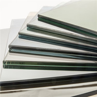 6mm, 8mm, 10mm, 12mm Tempered Safety Glass for deck glass railing systems