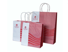 Brown paper bag /China supplier shopping paper bag