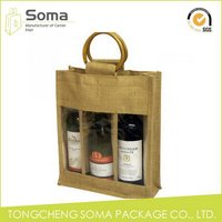Quality best selling good quality gift jute bags wedding