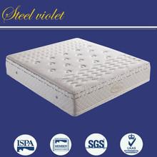 Luxury soft 50D memory foam pocket spring mattress