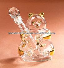panda glass bottle/750ml glass wine bottles wholesale/glass spirit bottles