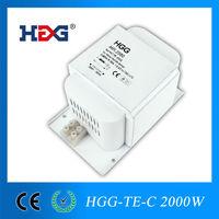 hot sale 600w 1000w 2000w high pressure sodium magnetic ballast