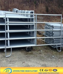 Heavy Duty Portable Galvanized Pipe Used Horse Corral Panels