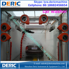 Galvanized Steel Automatic Car Wash At Factory Price , Car Wash Machine