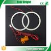 COB 2835 36SMD 70MM Blue Led Light Angle Eyes Fit For BMW Audi