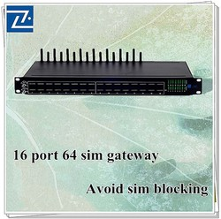 16 port gsm cdma wcdma gateway systerm voip service providers goip-16