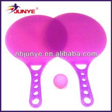 de alta calidad de playa de plástico juego de pelota hecha en china