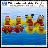 christmas rubber duck/rubber toy