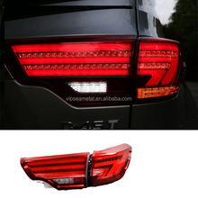 Car Taillights For Toyota Highlander 2014 2015 LED Rear Lamp Trunk Light Cover DRL+Signal+Brake+Reverse LED Rear Light