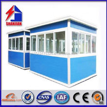 guard house sentry box with sandwich panel