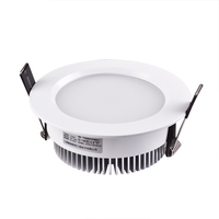 Warm white3000 HUGEWIN white lamp HTD687 7W led down ceiling light smd 5730 indoor led lighting 35000h life span