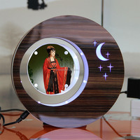 LED suspending in the air magnetic levitation photo frame gift india
