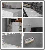 popular color Artificial polished quartz stone for countertop and tile at the lowest price artificial stone molds