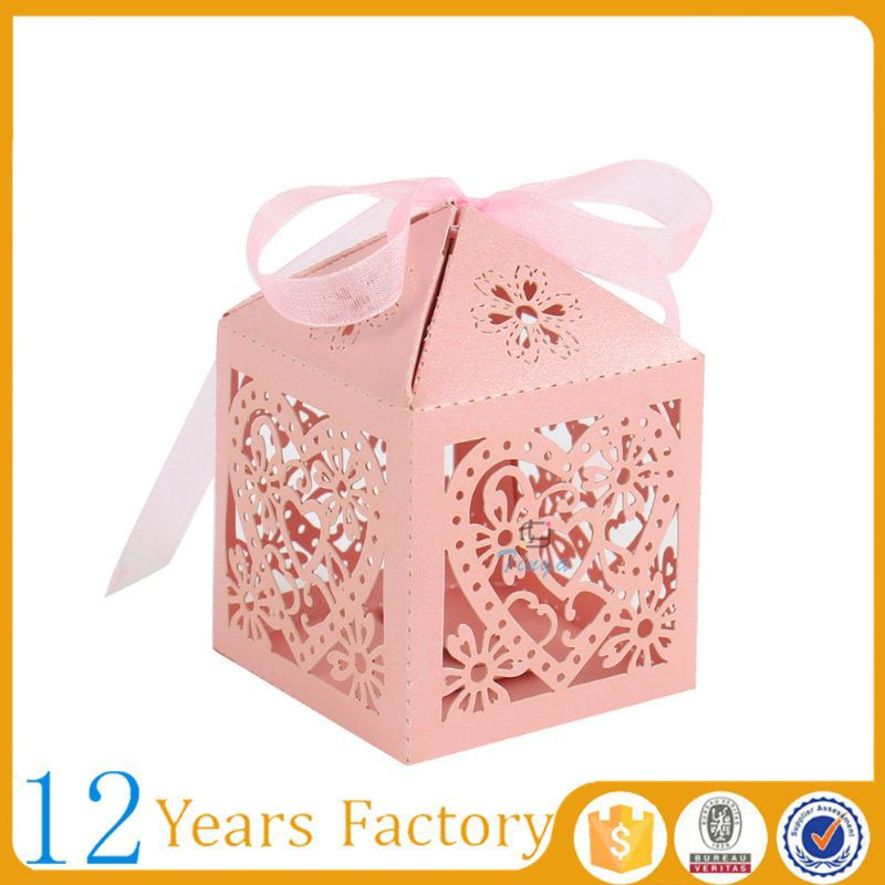 Empty Wedding Favors Decorative Candy Boxes
