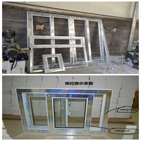 american style windows and doors/upvc profile/china factory pvc wholesale price