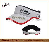 Custom high quality dry fit men sun visor