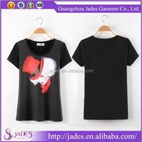 2015 New style trendy short sleeve custom printed tshirts