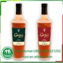 100% natural ,Brix 15%,Goji Raw Juice In 500ml Bottle