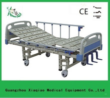 Hot sale three function manual hospital patient bed