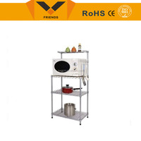 High quality metal kitchen wall wire shelf shelve for hot sale