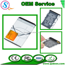 BL-5B replacement phone battery for nokia 3220/3230/5070/5140/5140i wholesale price