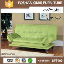 Fabric Green Sofa with Folding Arms SF7089