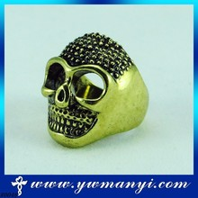 Newest fashion jewelry manufacturer china direct lead and nickel free Punk Skeleton Ring