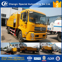 Latest Design popular model Combined Suction and Jetting Sewage Cleaner Truck 4x2 High pressure Vacuum Washing truck for sale