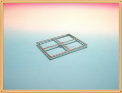 high precision metal led shield cover / screening case/metal led shielding case