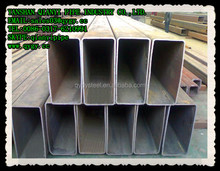 Length 6M Hot Rolled Square and Rectangular Steel Tube Black