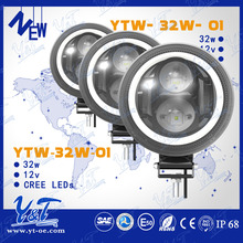 "Latest Designed 40W LED Work Light, Best sell Automobile round 7"" 40W IP68 led work light"