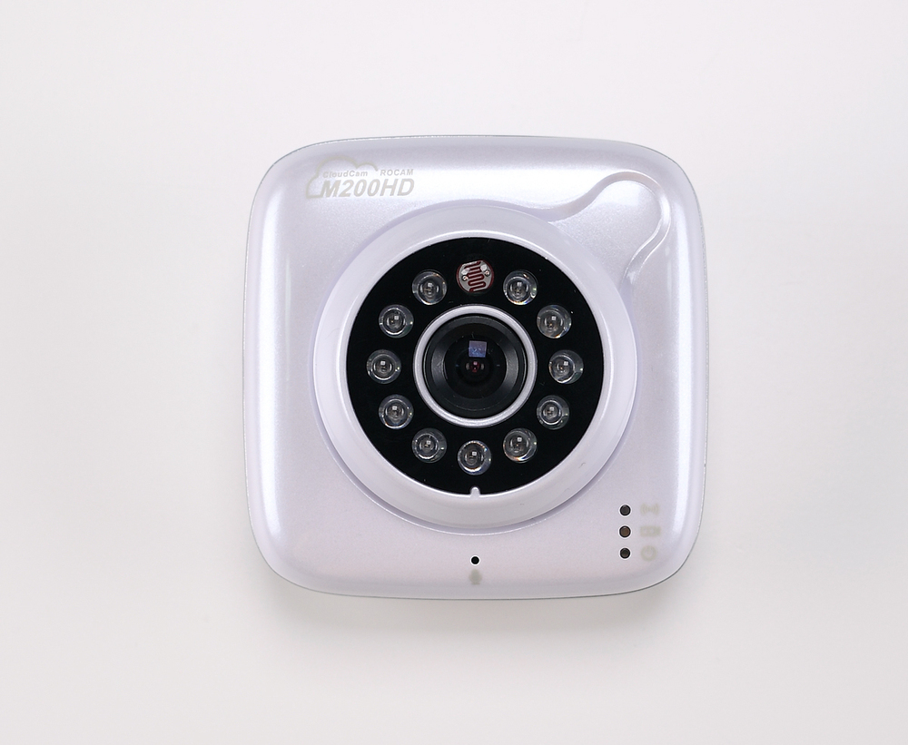 Rocam Most Competitive IP Camera M200HD,720P High definition IP Camera Mini Camera with TF Card Storage,Dual audio