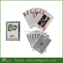 Personalizado de alta qualidade jogo de publicidade papel impressão do cartão de jogo