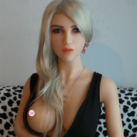 Latest various replacing head silicone sex toy with pussy for your choice