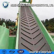 Polyester Chevron Conveyor Belt, EP Canvas Patterned Conveyor Belts, Ribbed Conveyor Belt