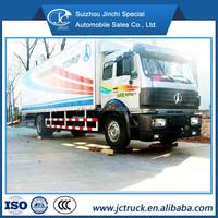 High quailty 4X2 North Benz 40CBM diesel drum cargo truck