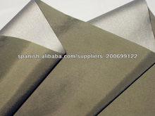 nylon tafetán/plata revestido tafetán/impermeable de nylon del tafetán/tejido exterior