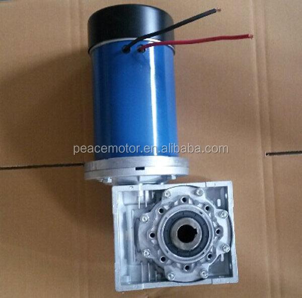 12v 24v 250w ad alta coppia 100 watt dc a vite senza fine for 250 watt brushless dc motor