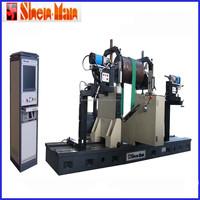shenman 5ton universal belt drive balancing machine for heavy rotors