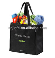 80gsm Recycled non woven tote pp shopping bag