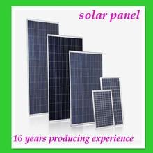 High Effective Solar Panels 250 watt, 3w-300w home system solar panel system use