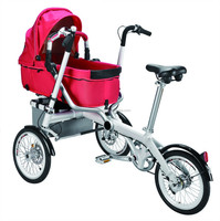 stroller bicycle 2015 new products mother and child bicycle baby carrier