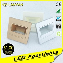 wholesale Chinese led foot lamp 12 volt led step light led stair light indoor from zhongshan factory