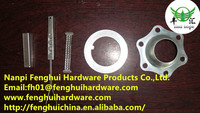 custom made sheet metal parts/hole punch parts/galvanized stamping parts