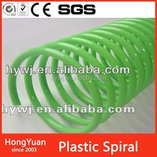 Printing Services plastic book binding coil spiral,plastic comb ring binder for book binding,book binding wire o