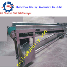 Automatic continuously chicken feet peeling machine/Chicken Feet Processing Equipment/Feet blanching Machine/0086-13703827539